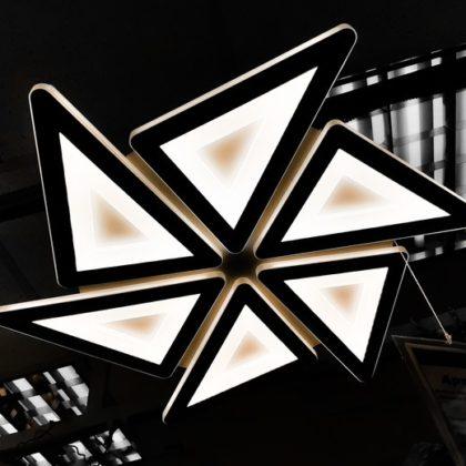 60145/6 WH LED 120W светильник потолочный